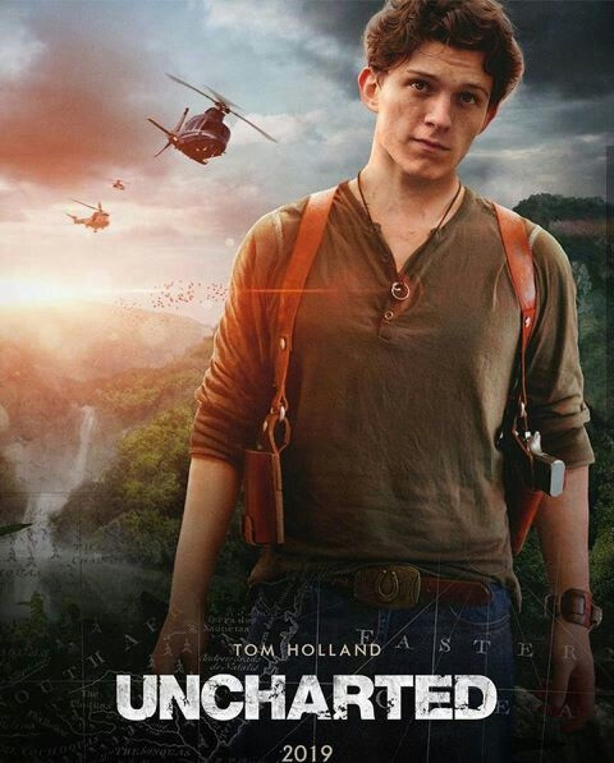 Tom Holland Shares Uncharted Set Photo Hinting The Preparation For