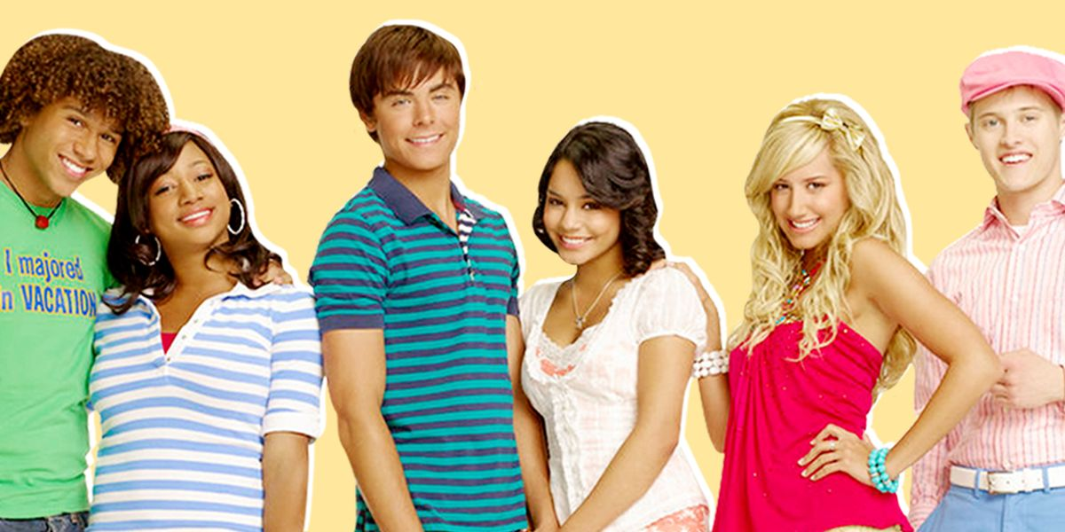High School Musical 1 Poster