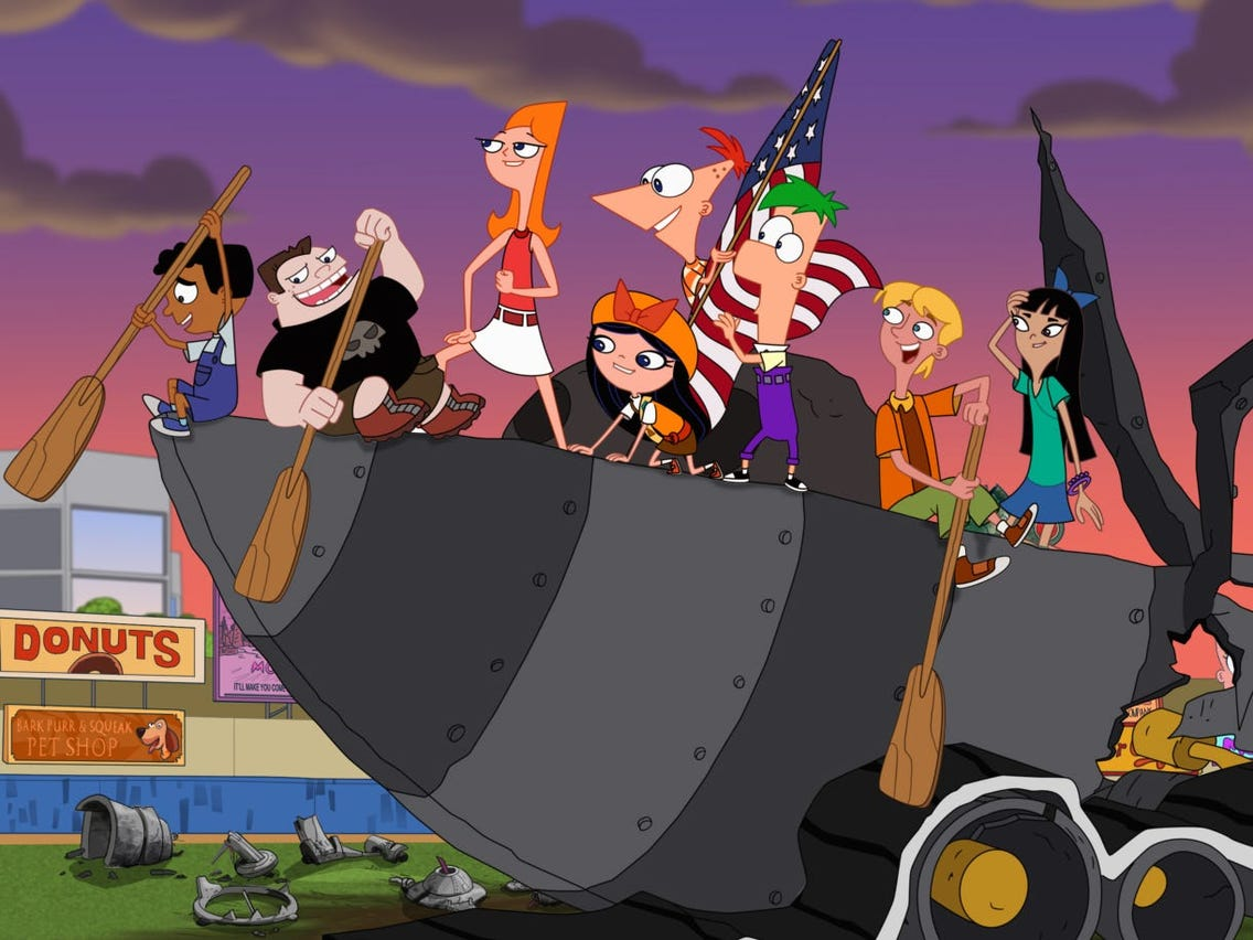 Phineas and Ferb The Movie: Candace Against The Universe Poster