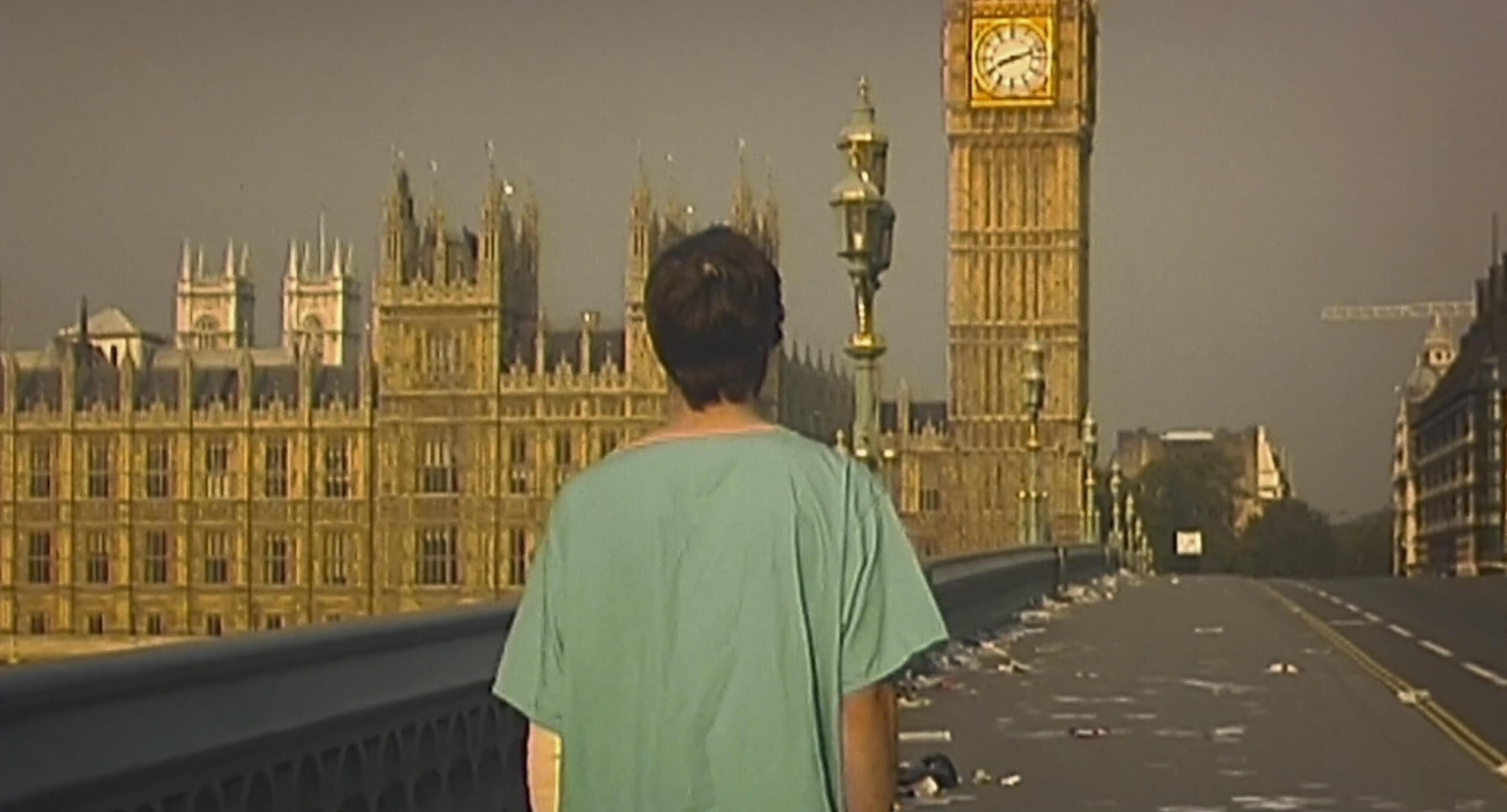 28 Days Later Movie Scene