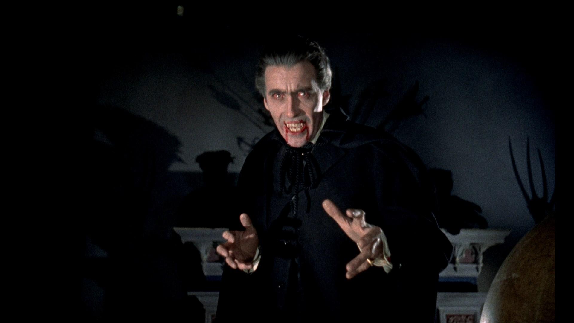 The horror of Dracula (1958)Movie Scene