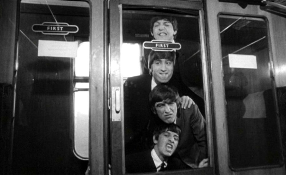 A Hard Day's Night Movie Scene