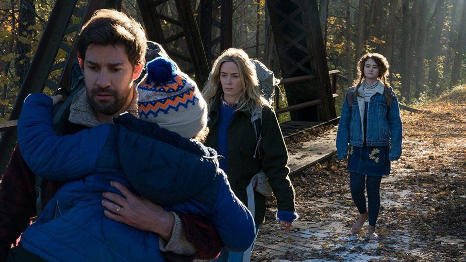 A Quiet Place Movie Scene