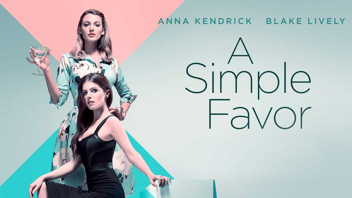 A Simple Favour (2018) Poster