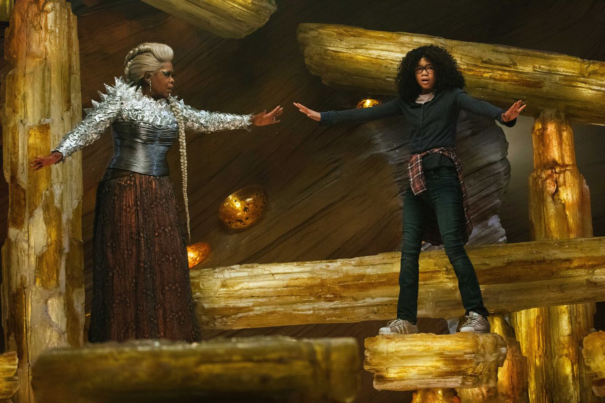 A Wrinkle in Time Movie Scene