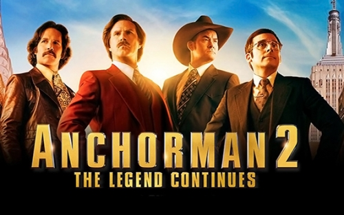 Anchorman 2 The Legend Continues (2013) Movie Poster