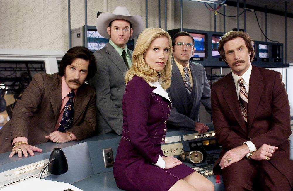 Anchorman The Legend of Ron Burgundy Movie Scene