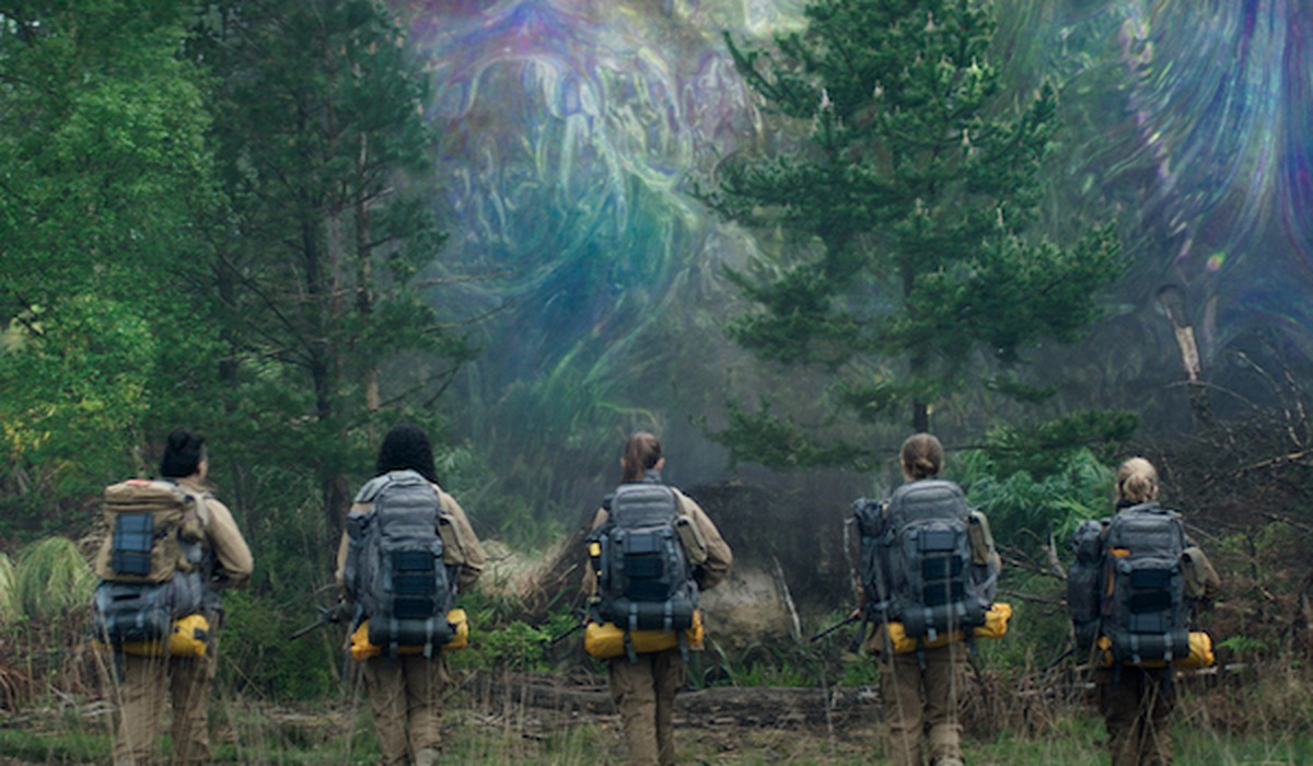 Annihilation Movie Scene
