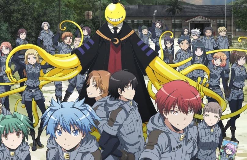 Assassination Classroom Anime Scene