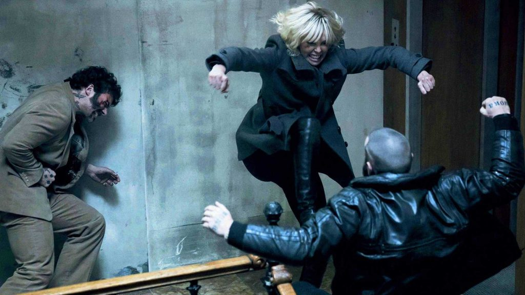 Atomic Blonde Movie Scene