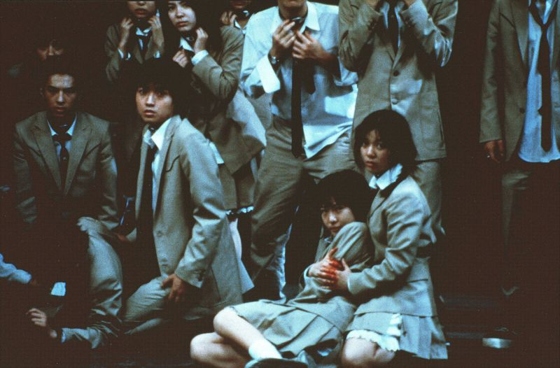 Battle Royale Movie Scene
