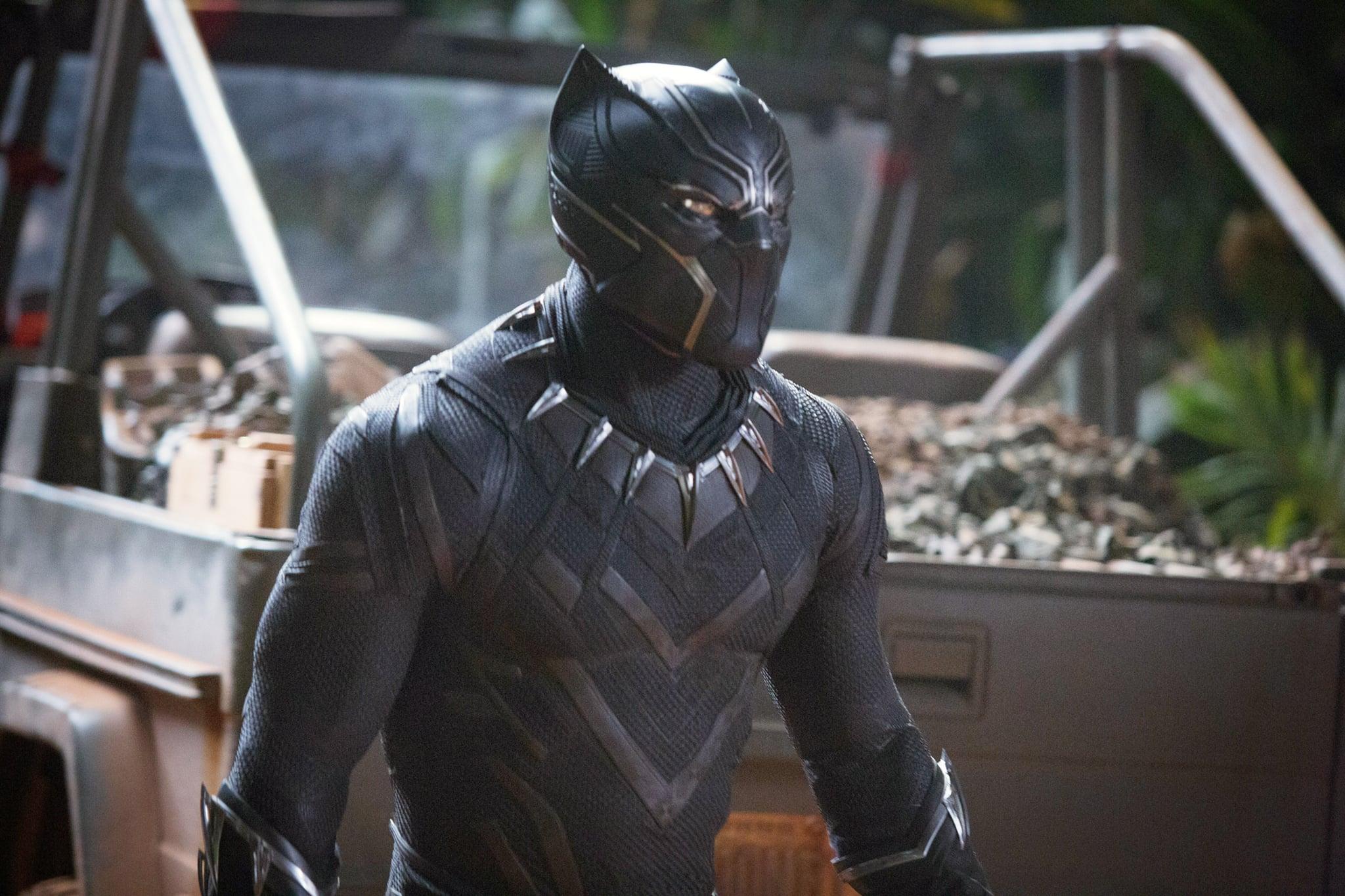 Black Panther (2018) Movie Scene
