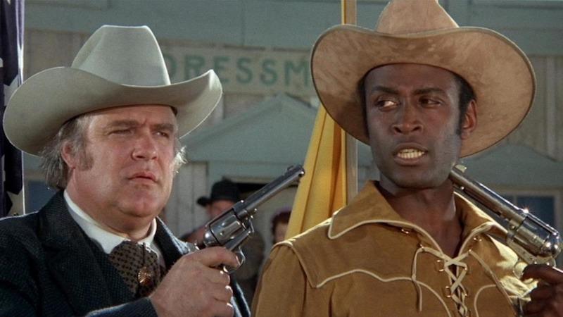 Blazing Saddles Movie Scene