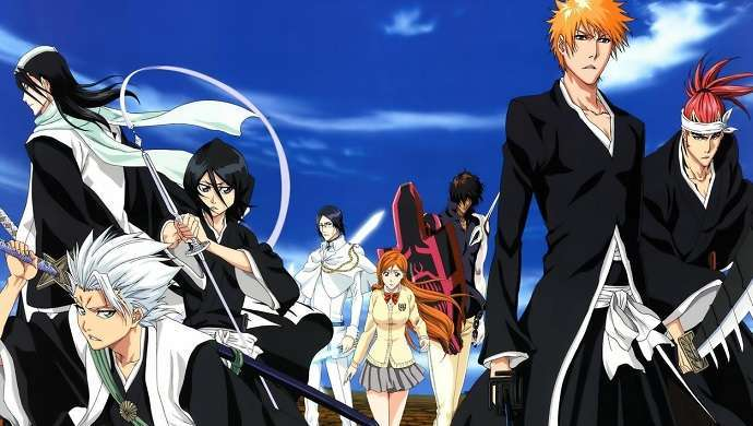 Bleach Anime Scene