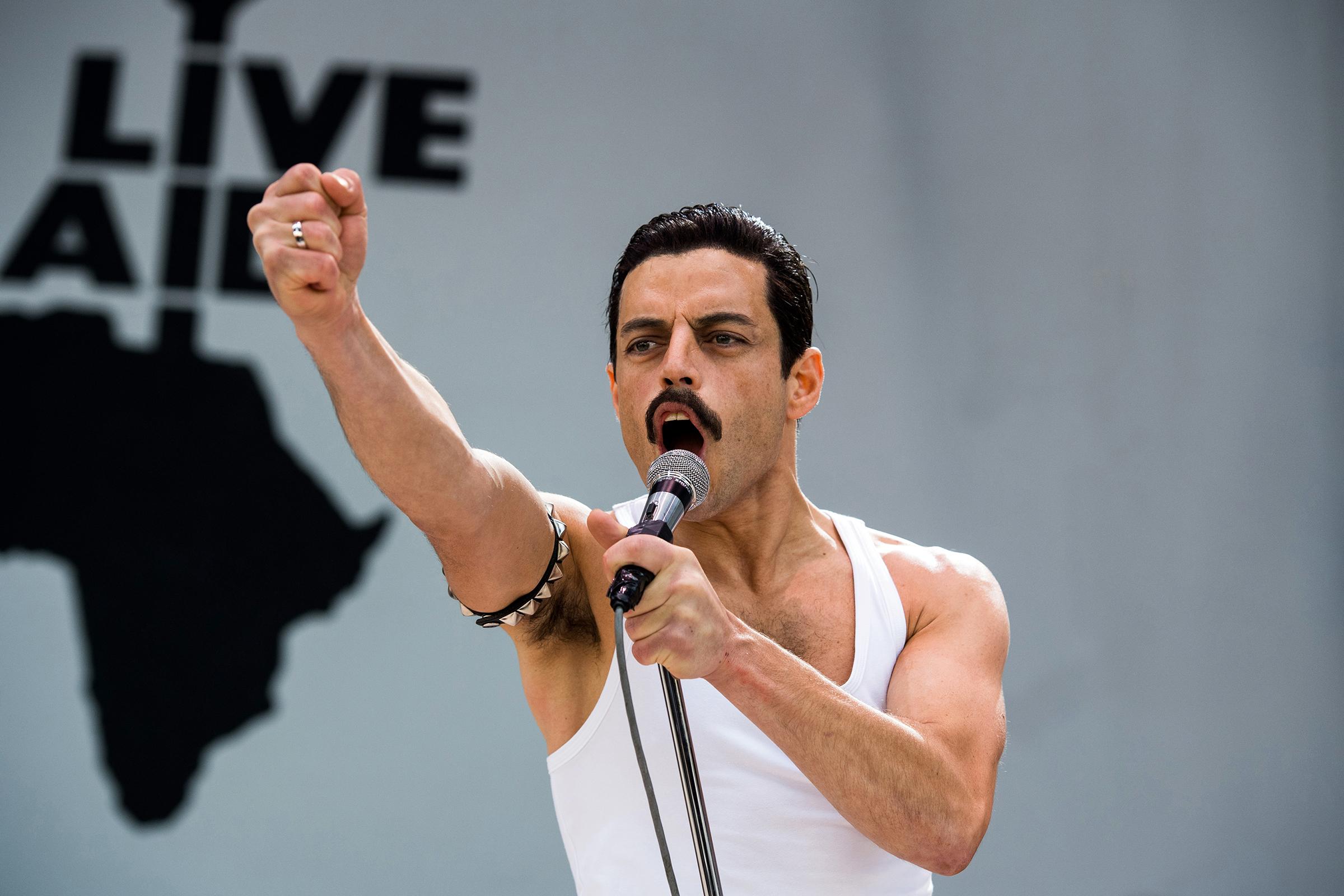 Bohemian Rhapsody Movie Scene