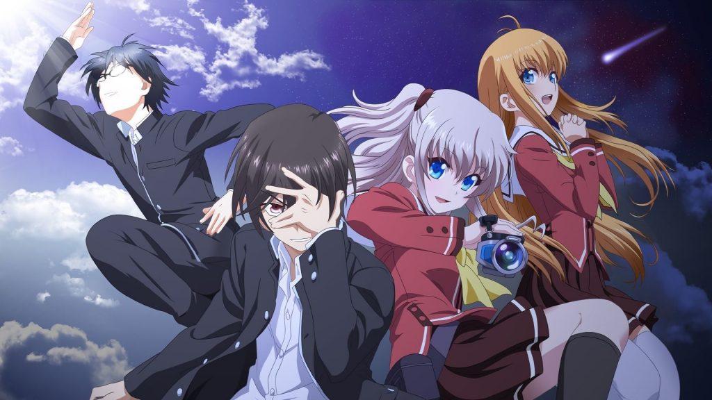 Charlotte Anime Scene