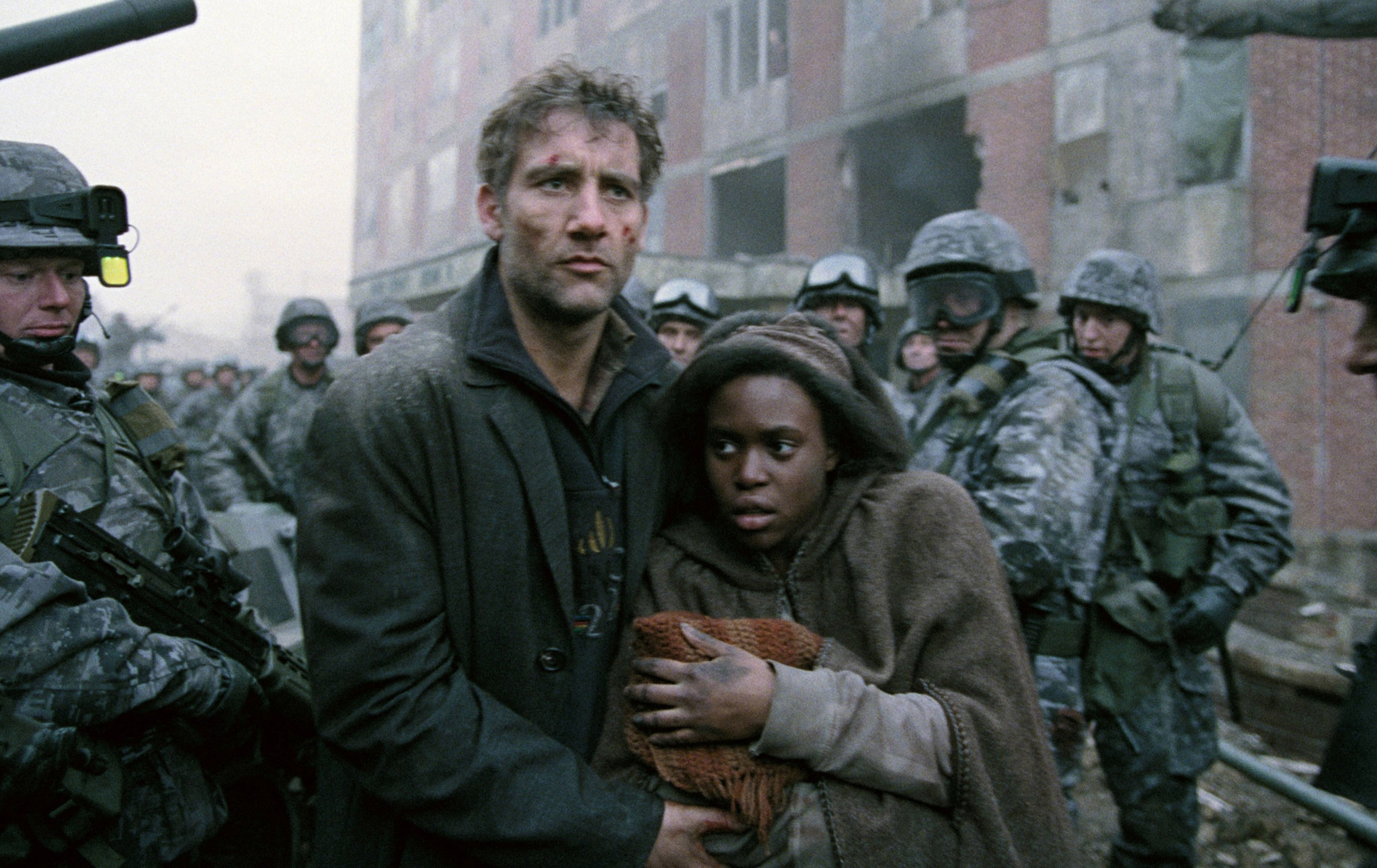 Children of Men 2006 Movie Scene