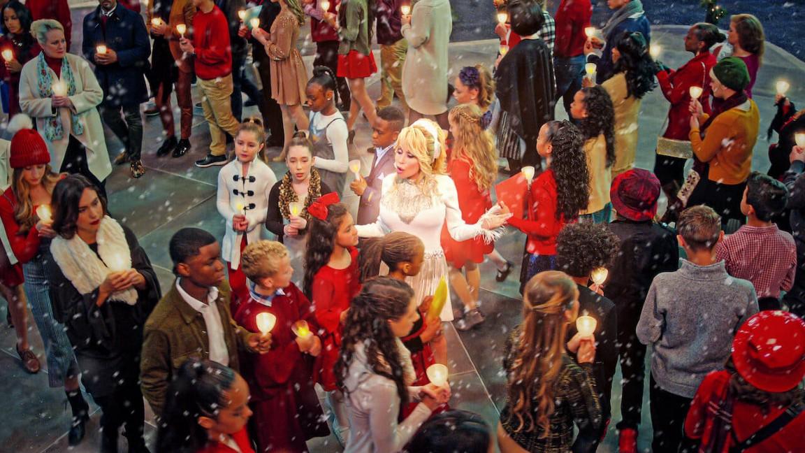 Christmas on the Square (2020) Movie Scene