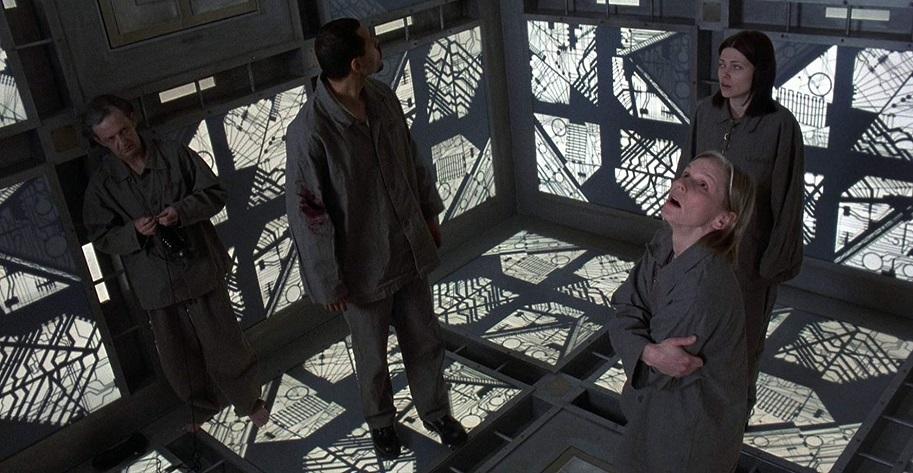 Cube (1997) Movie Scene