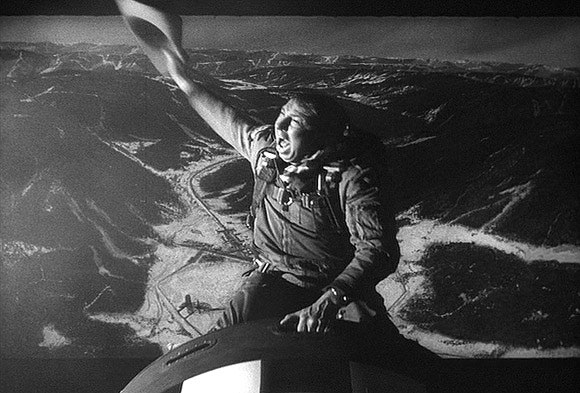Dr. Strangelove Movie Scene