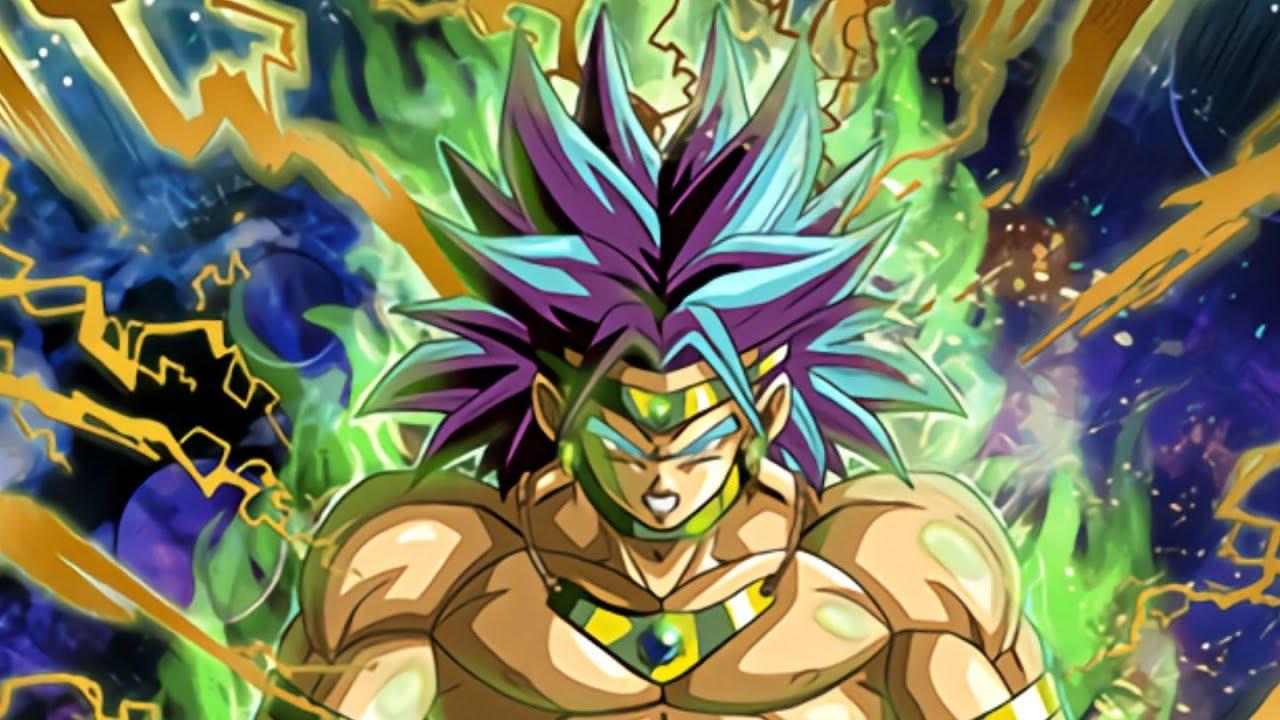 Dragon ball z Broly-the Legendary Super Saiyan