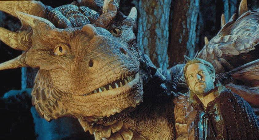 DragonHeart Movie Scene
