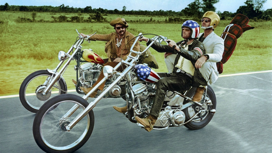 Easy Rider Movie Scene