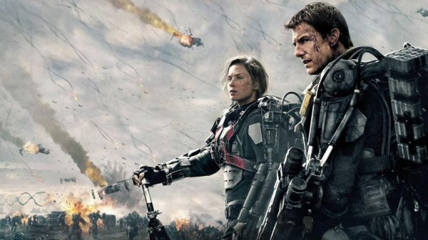 Edge of Tomorrow Movie Scene