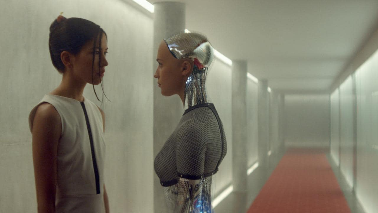 Ex Machina Movie Scene