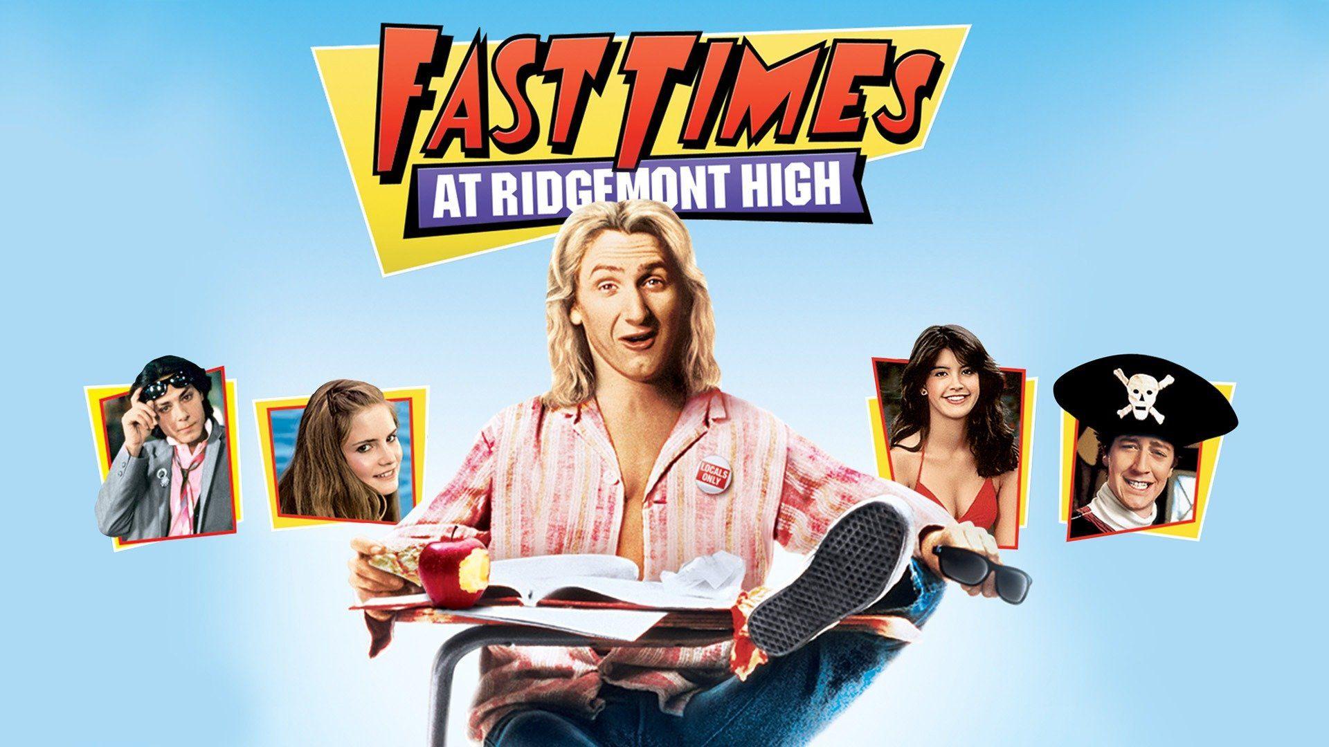 Fast Times At Ridgemont High Poster