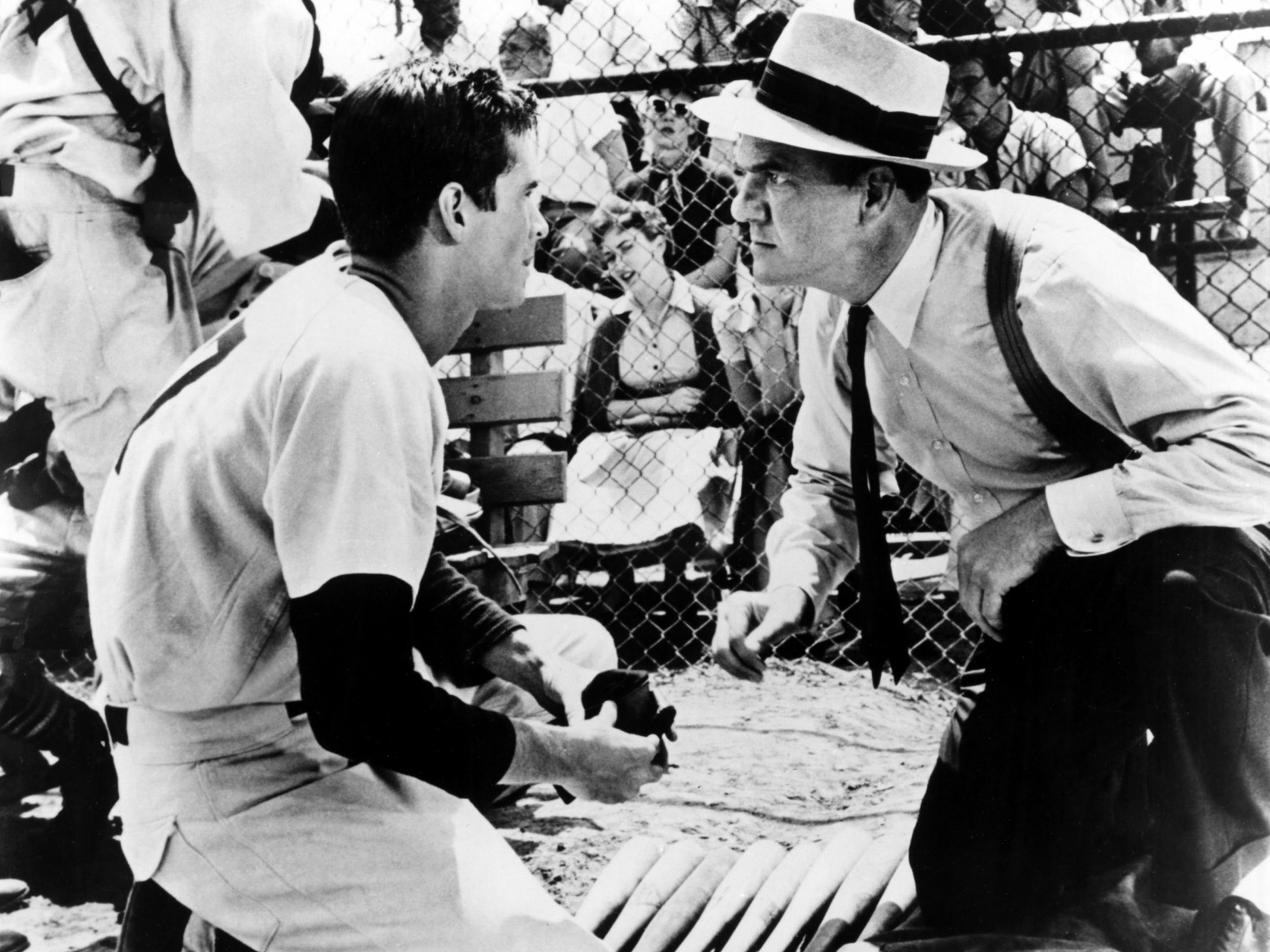 Fear Strikes Out (1957) Movie Scene