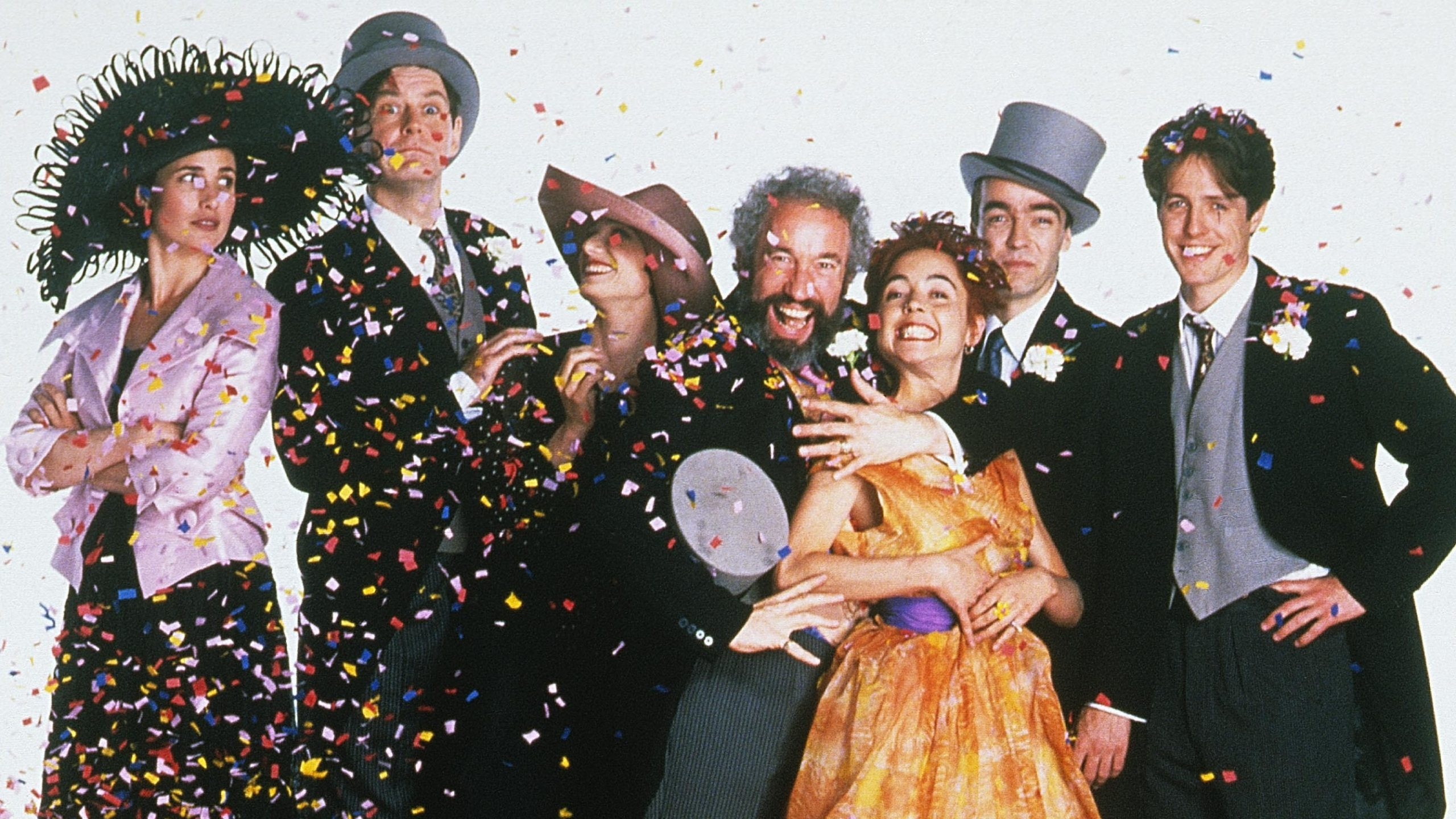 Four Weddings and a Funeral Movie Scene
