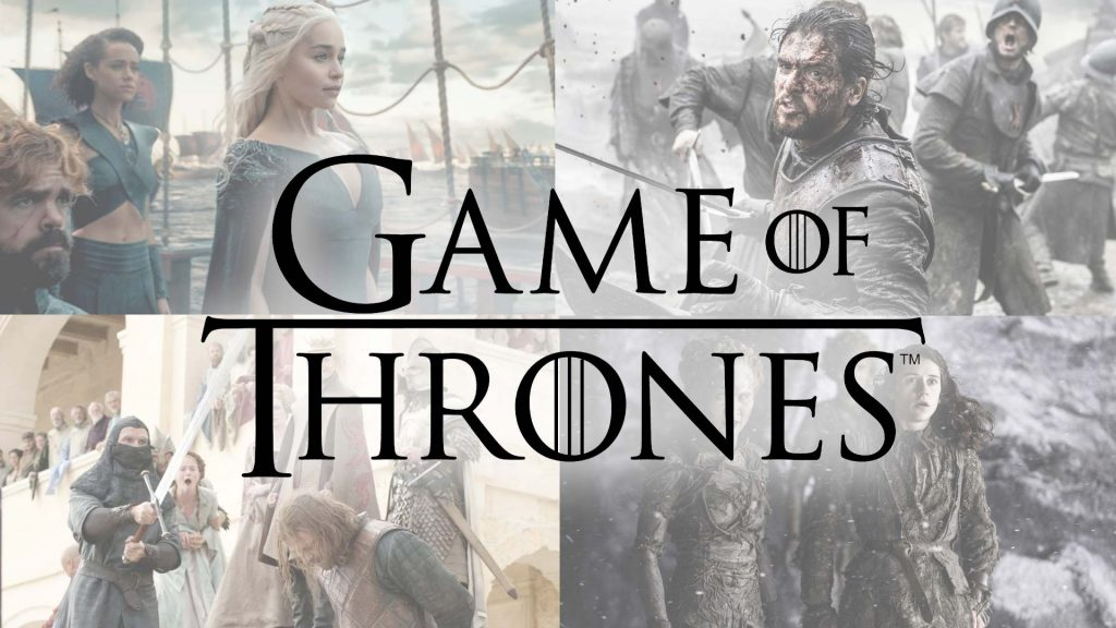 Game of Thrones Title Poster