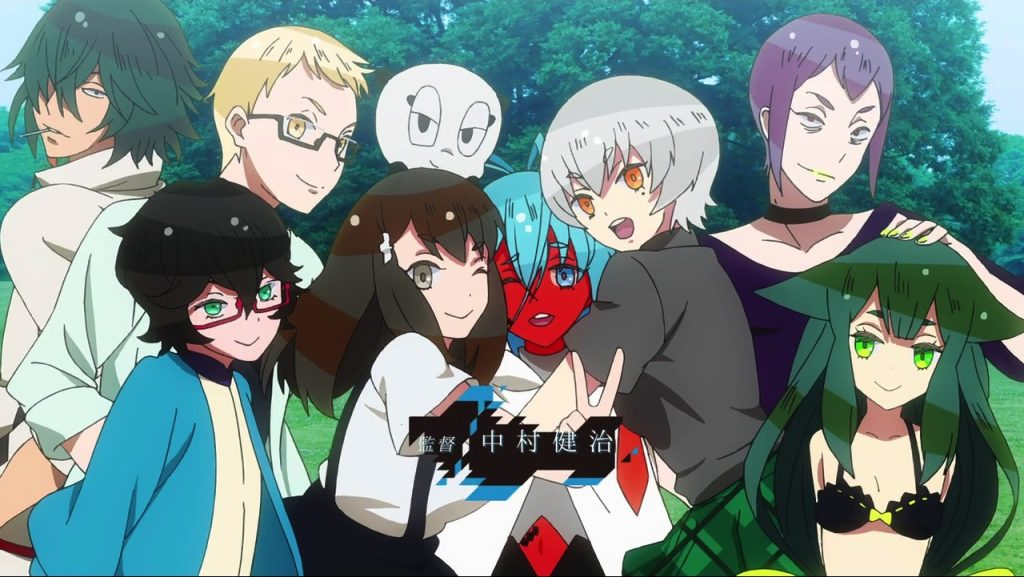 Gatchaman Crowds Anime Scene