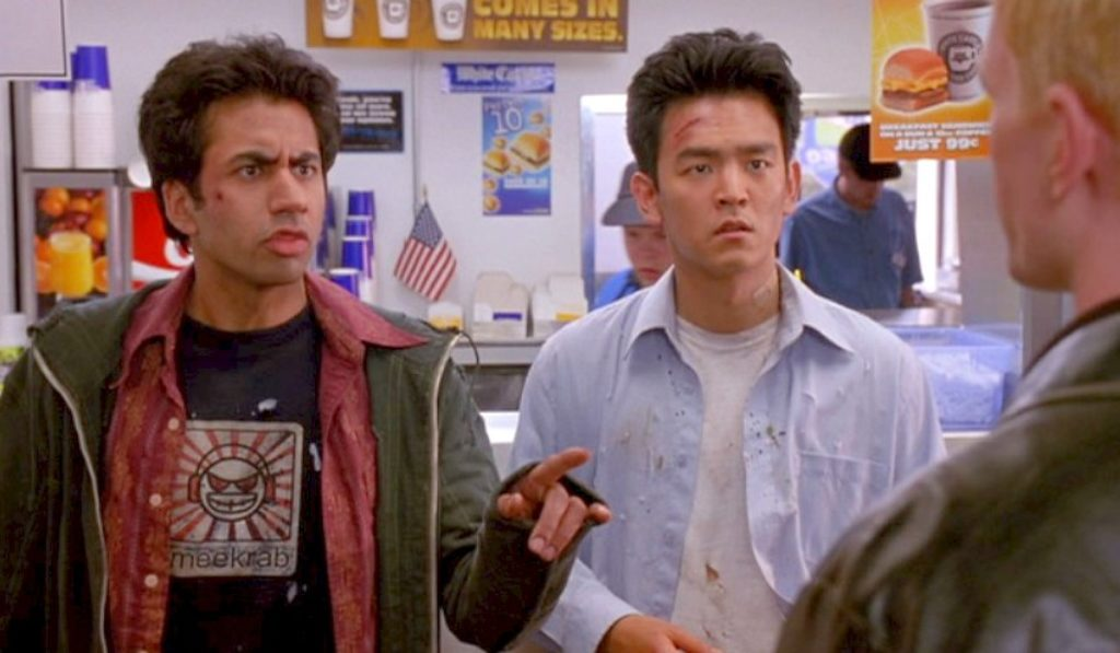 Harold and Kumar go to the White Castle Movie Scene
