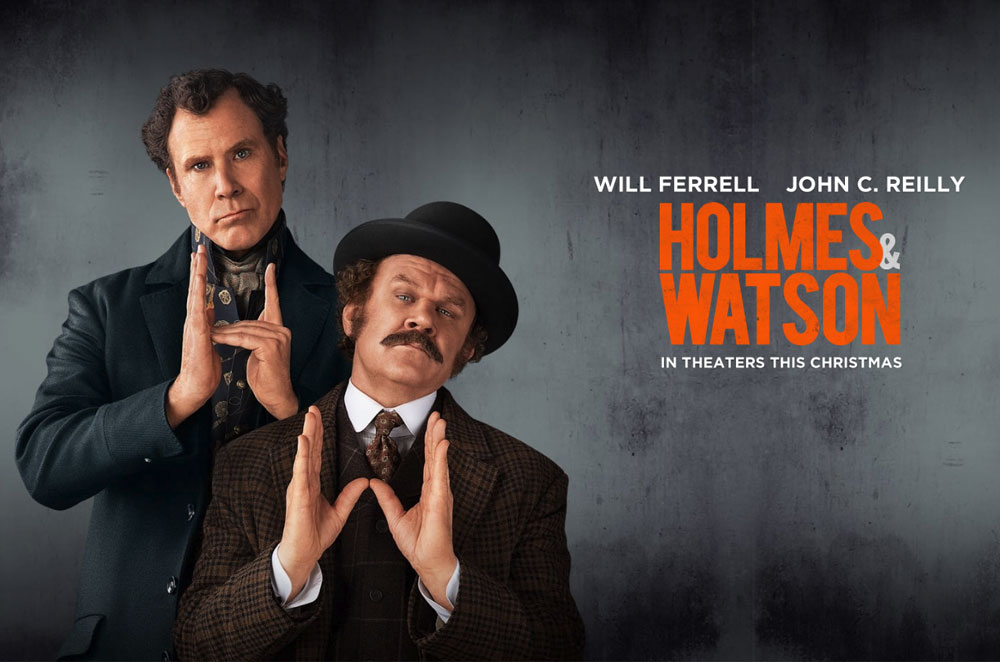 Holmes and Watson (2018) Movie Poster