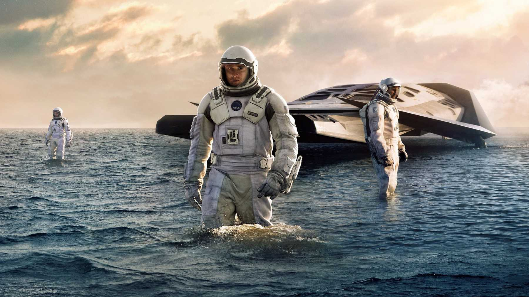 Interstellar Movie Scene