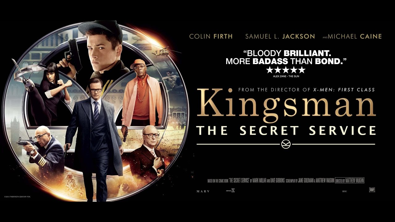 Kingsman The Secret Service (2014) poster