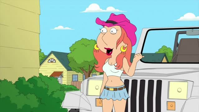 Lois Comes Out of her Shell Tv Show Scene