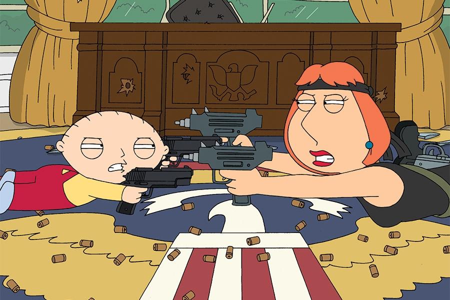 Lois kills Stewie Tv Show Scene