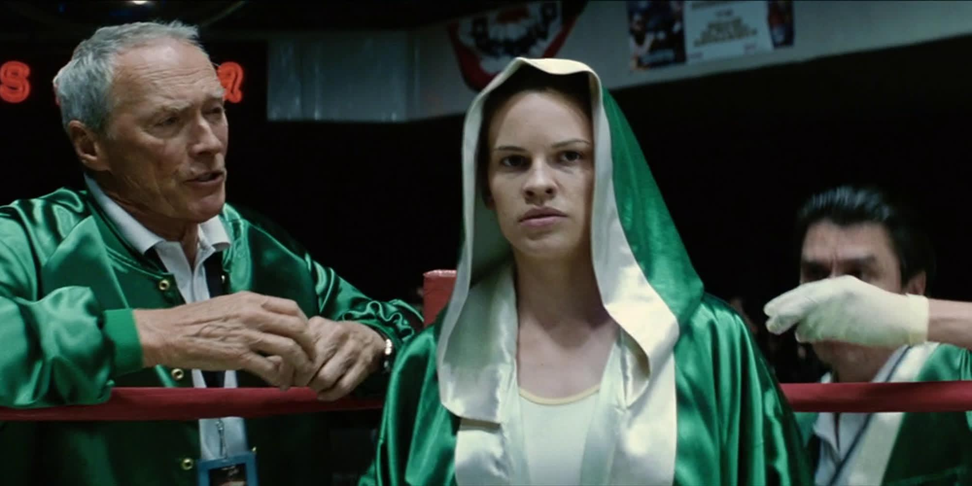 Million Dollar Baby (2004) Movie Scene