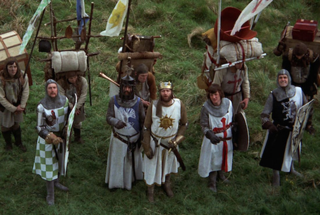 Monty Python and the Holy Grail Movie Scene