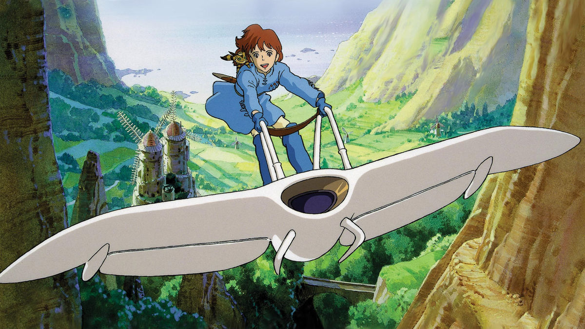 Nausicaä: Valley of the Wind (1984) Anime Scene