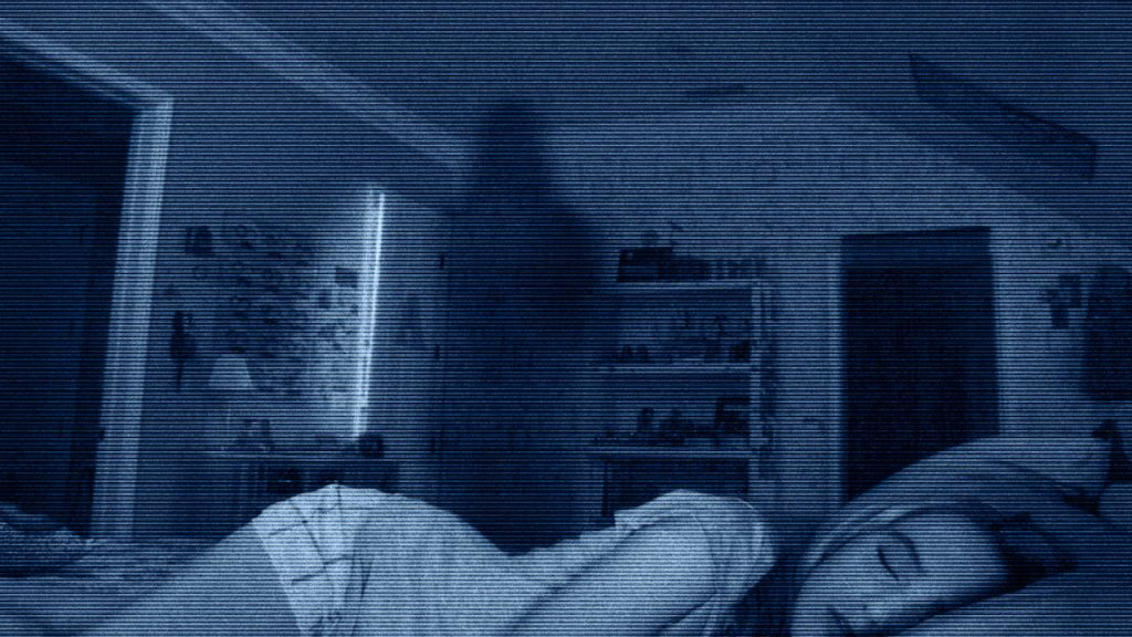 Paranormal Activity Movie Scene