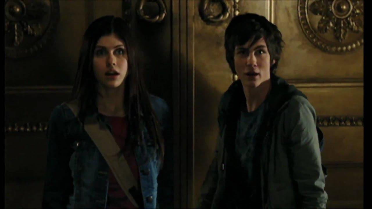 Percy Jackson and The Lightning Thief (2010) Movie Scene