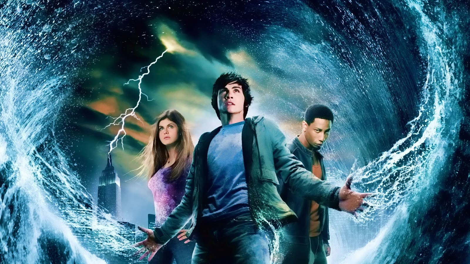 Percy Jackson and the Olympians Movies (2010-2013)