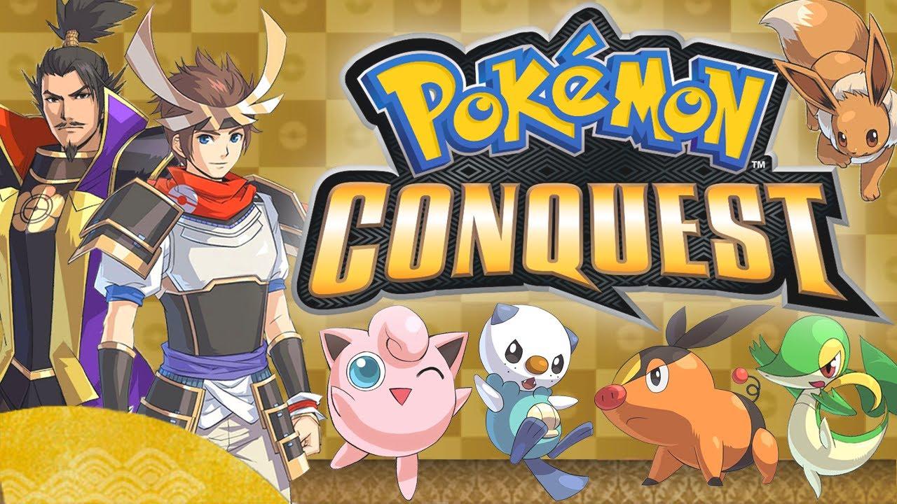 Pokemon Conquest (Spin-off)