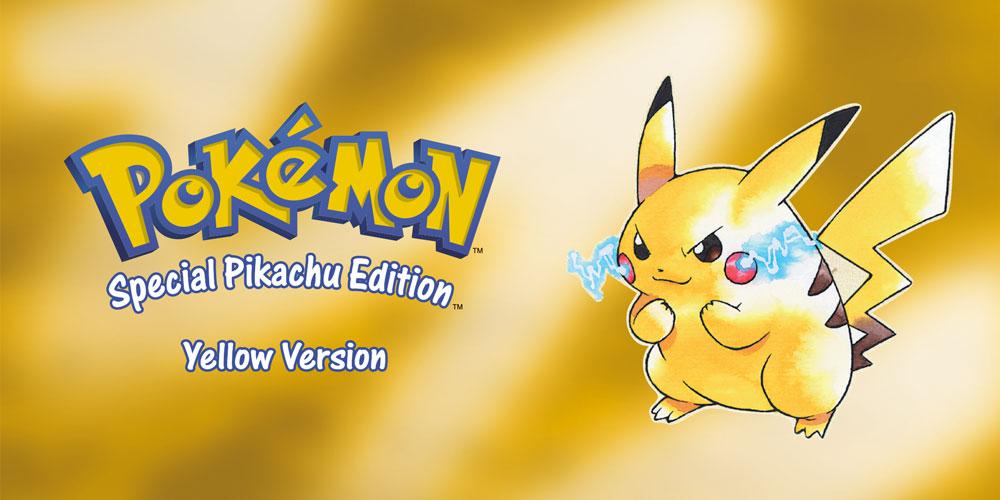Pokemon Yellow Version (1998) Poster