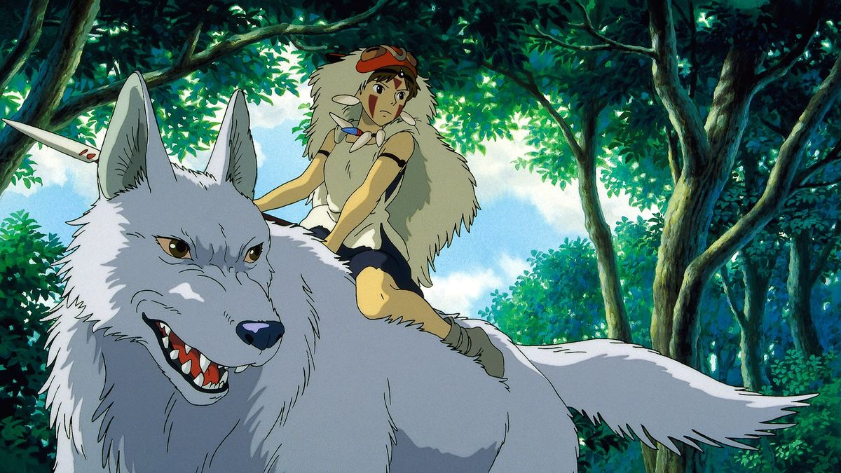 Princess Mononoke (1997) Movie Scene