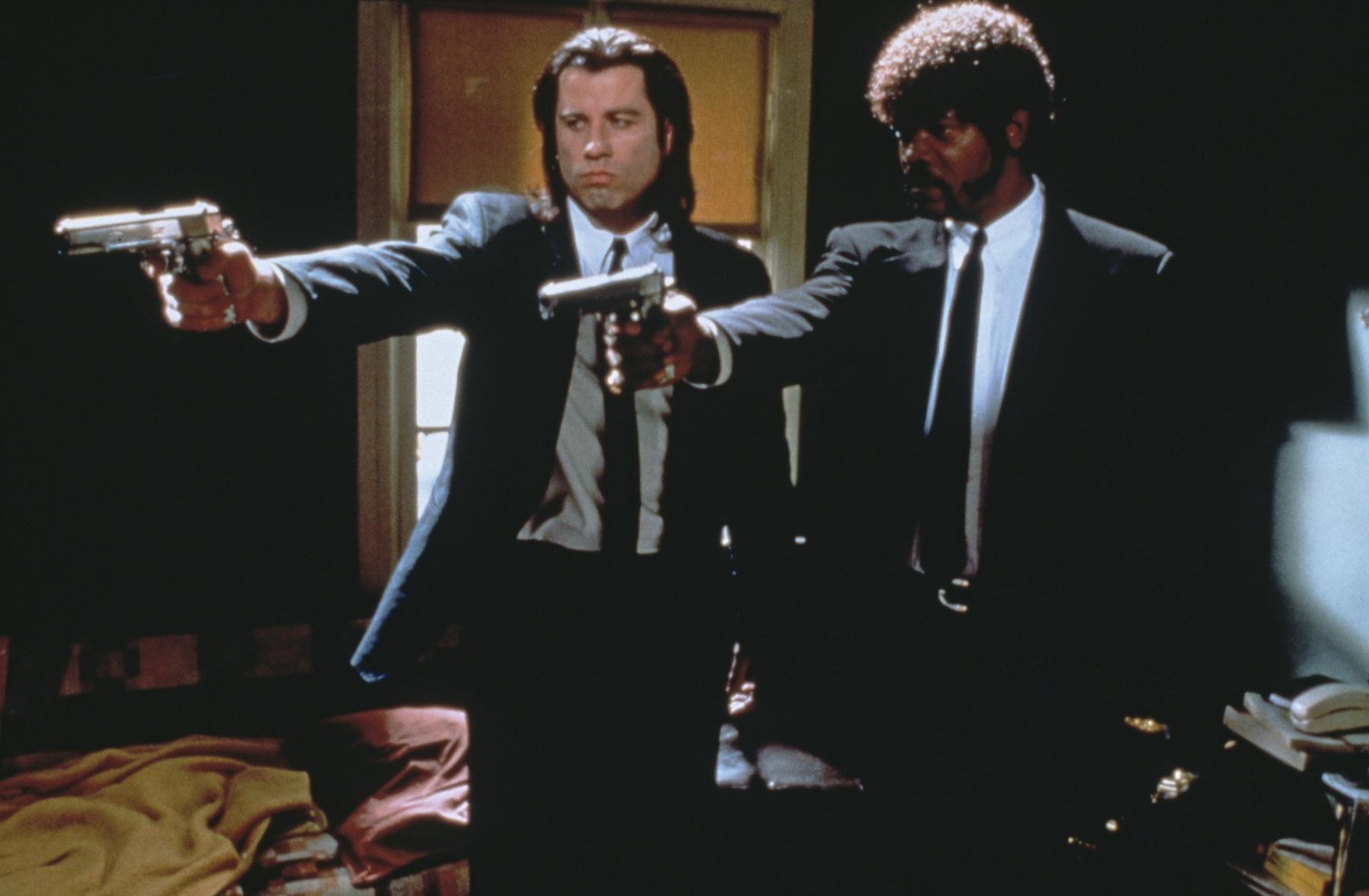 Pulp Fiction Movie Scene